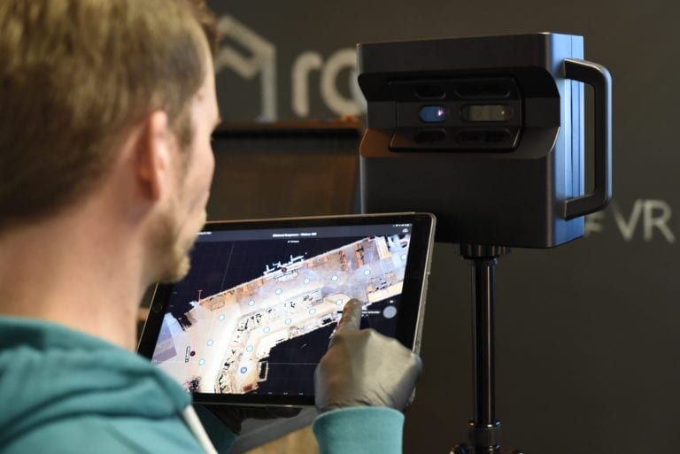 Generierung des 3D Rundgangs